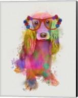 Rainbow Splash Cocker Spaniel, Full Fine-Art Print
