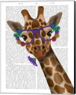 Chewing Giraffe 1 Fine-Art Print