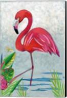 Vivid Flamingo I Fine-Art Print
