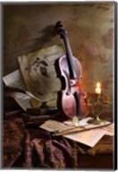 Still Life With Violin Fine-Art Print