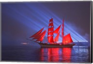 Scarlet Sails Fine-Art Print