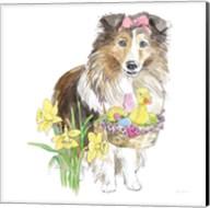 Easter Pups II Fine-Art Print