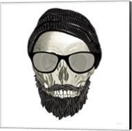 Hipster Skull II Fine-Art Print