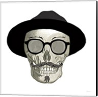 Hipster Skull III Fine-Art Print