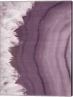 Agate Geode I Plum Fine-Art Print