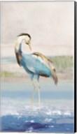 Heron on the Beach I Fine-Art Print