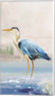 Heron on the Beach II Fine-Art Print