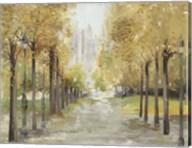 Golden Pathway Fine-Art Print
