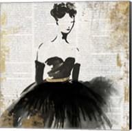 Lady in Black II Fine-Art Print