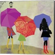 Umbrella Girls Fine-Art Print