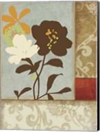 Floral Damask I Fine-Art Print