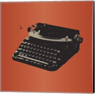 MCM Typewriter Fine-Art Print