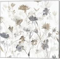 Garden Shadows III on White Fine-Art Print