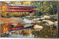 Swift River Covered Bridge Fine-Art Print