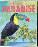 Island Time Toucan II Fine-Art Print