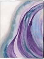 Watercolor Geode I Fine-Art Print