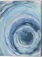 Watercolor Geode IX Fine-Art Print