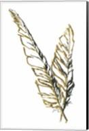 Gilded Raven Feather Fine-Art Print