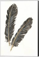 Gold Feathers IV Fine-Art Print