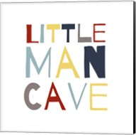 Little Man Cave Primary Color Palette Fine-Art Print