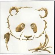 Gilded Panda Fine-Art Print