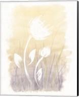 Floral Silhouette I Fine-Art Print
