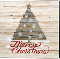 Holiday Sayings V on Wood Fine-Art Print