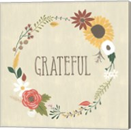 Autumn Garden Grateful Fine-Art Print