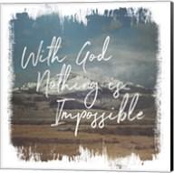 Wild Wishes I With God Fine-Art Print