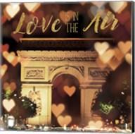 Love is in the Air Arc de Triomphe Fine-Art Print