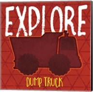 Dump Truck Explore Fine-Art Print