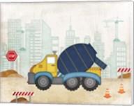 Cement Truck Fine-Art Print