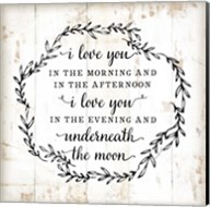I Love You in the Morning Fine-Art Print