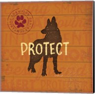 Protect Dog Fine-Art Print