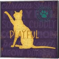 Playful Cat Fine-Art Print