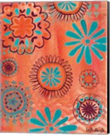 Bohemian Flowers Fine-Art Print