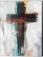 Contemporary Cross I Fine-Art Print