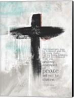 Isaiah 5410 Cross Fine-Art Print