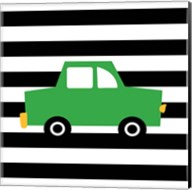 Green Car Fine-Art Print
