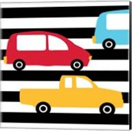Bright Cars Multi Fine-Art Print