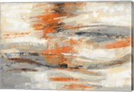Golden Dust Crop Orange Fine-Art Print