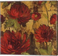 Majestic Dahlias I Fine-Art Print