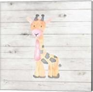 Watercolor Giraffe Fine-Art Print