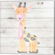 Watercolor Giraffe Fine-Art Print