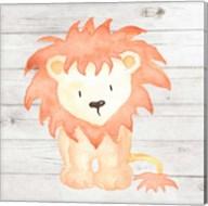 Watercolor Lion Fine-Art Print
