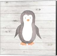 Watercolor Penguin Fine-Art Print