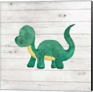 Water Color Dino VI Fine-Art Print