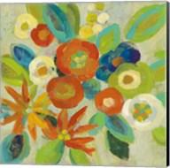 Flower Market III Cool Fine-Art Print