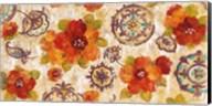 Hibiscus and Mandala Flowers Fine-Art Print