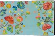 Folk Song Floral Fine-Art Print